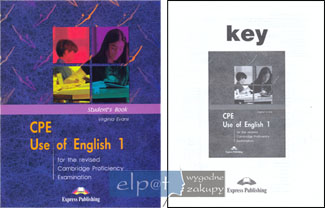 CPE Use Of English 1 Podręcznik + klucz V Evans