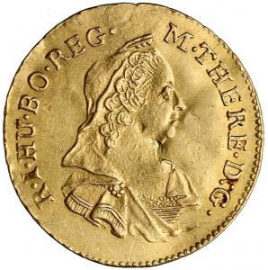 1663. Siedmiogród, Maria Teresa, Półdukat 1780