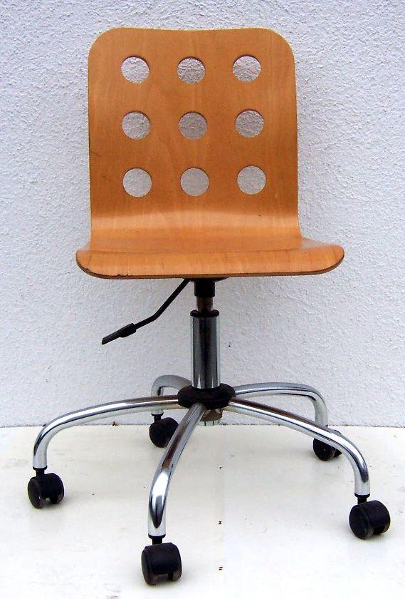 Krzesło obrotowe drewniane NOWY STYL CANTONA GTS