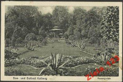 Kołobrzeg. Kolberg. Ogród Różany. Rosengarten.