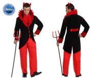 Szatan Diabeł Strój Halloween Przebranie Delux XS