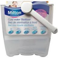 Sterylizator DO BUTELEK 6 szt na zimną wodę Milton