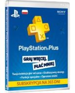 365 DNI PSN PLAYSTATION PLUS PS3 PS4 12 AUTOMAT 24