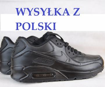 Buty nike air max czarne black 42 45 polska Zdjęcie na imgED