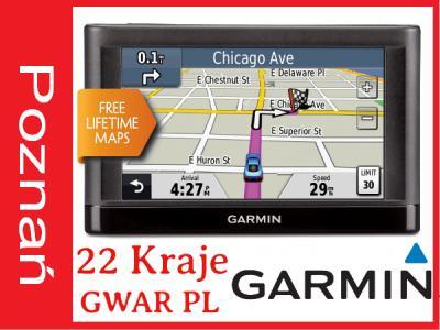 Nawigacja GPS GARMIN NUVI 42LM Dożywotnie mapy EEU