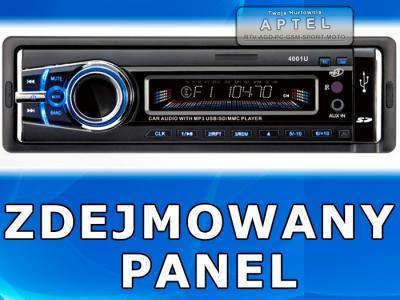 RS4A RADIO SAMOCHODOWE MP3 USB +AUX +PILOT PREZENT
