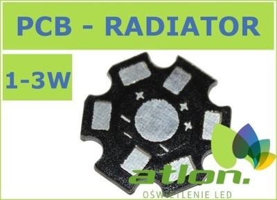 Radiator PCB pod POWER LED 1/3W 10 szt.