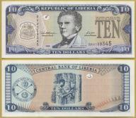 -- LIBERIA 10 DOLLARS 2006 BA P27c UNC