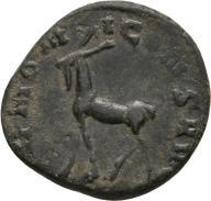 SALONINA, AR Antoninian (Elk) 19mm; 3.42g / RIC 16