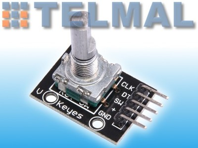 Moduł impulsator enkoder sterowanie arduino AVR