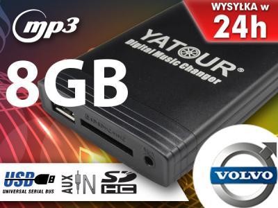 MP3 ZMIENIARKA SD USB VOLVO S40 V40 S60 XC90 +8GB