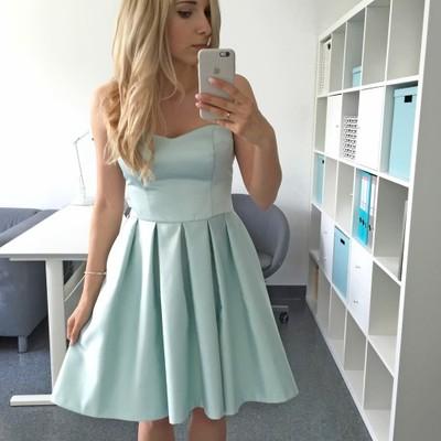 33e8729da5 Miętowa sukienka MOHITO - 36 38 idealna na wesele - 6895540480 ...