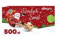 Karta Podarunkowa Boże Narodzenie - 500 zł