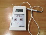 Termometr laboratoryjny DT-34 z sondą używany ok.