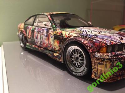 Art Car Sandro Chia Bmw M3 Gtr 1 18 Rarytas 5949456112 Oficjalne Archiwum Allegro