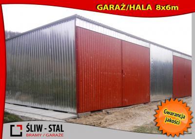 Bardzo dobra GARAŻ Blaszany BLASZAK Hala 8x6 JASTRZĘBIE ZDRÓJ - 5397057743 HX04