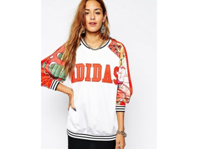 bluza adidas Originals X Rita Ora Dragon Sweatshir