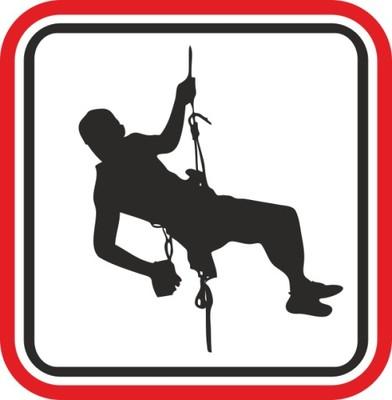 naklejka naklejki wspinaczka climbing