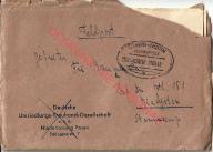 Ambulans Poznań Toruń, poczta polowa feldpost 1943