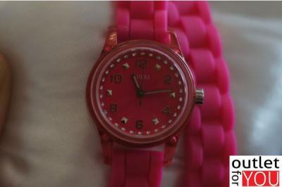 Zegarek damski GUESS W65023L3 RÓŻOWY. Super! OutletForYou