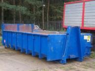 Wywóz gruzu śmieci, podstawianie konenerów Wejhero