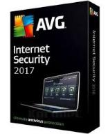 AVG INTERNET SECURITY 2017 1Pc/1rok