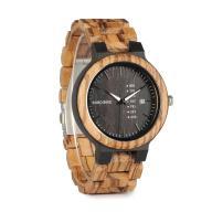Zegarek Drewniany BoBo Bird Stylowy + Box Okazja!