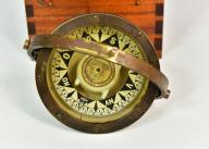 Stary kompas MORSKI WEILBACH&CO unikat PIĘKNY