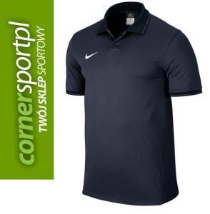 Koszulka Nike POLO SQUAD granatowa 588461 451 M