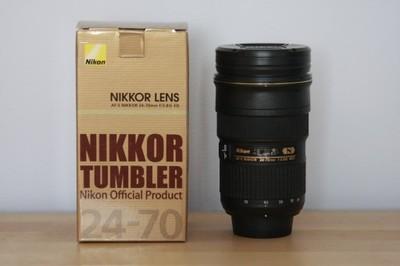 Kubek Termiczny Obiektyw Nikon Nikkor 24 70 6841123043 Oficjalne Archiwum Allegro