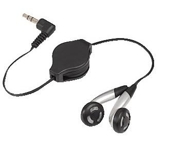 Słuchawki SONY PSP Slim & Lite - zwijany kabel