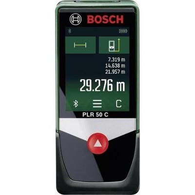 Dalmierz laserowy Bosch PLR 50 C, Zakres 50 m