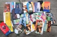 Zestaw - 70 kart telefonicznych