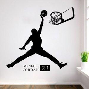 Cena fabryczna wykwintny design piękno Naklejka na Ścianę Jordan 23 Promocja PiXL - 6252412887 ...