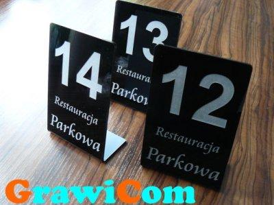 Numer Numerki Na Stolik Stojak Do Restauracji 6558815216