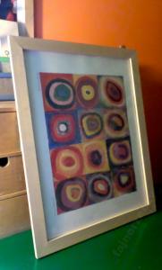 Ikea Plakat W Sosnowej Ramie Kandinsky Circles 6015081802