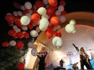 100x Balony Helowe MEGA PREZENT Ślub Event Łódzkie