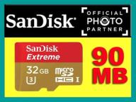 Micro SDHC 32GB EXTREME 90MB/s.K4 ULTRA HD SanDisk