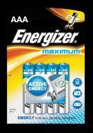 Bateria Maximum Alkaliczna AAA LR03 E91 4 szt.