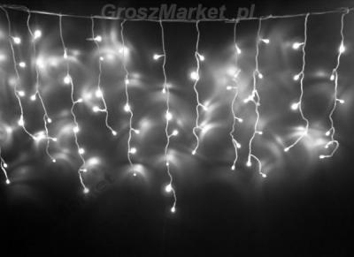 Sople Led 300 Lampki Choinkowe Kurtyna Biale Zimne 4737923435 Oficjalne Archiwum Allegro