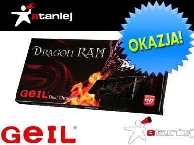 PAMIĘĆ GEIL DDR3 8GB DUAL 1333MHz DRAGON RAM CL9