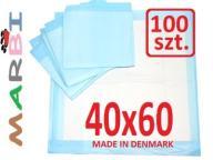 Podkłady maty nauka sikania 6 warstw 40x60 100szt