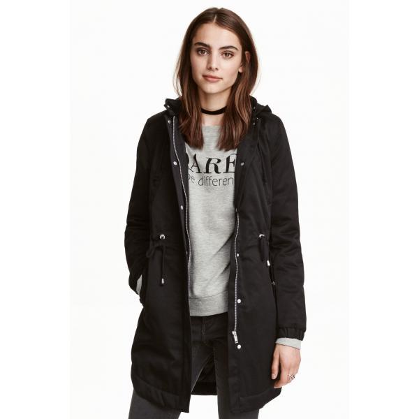 H&M Puchowa kurtka zimowa, parka, ciążowa, BCM
