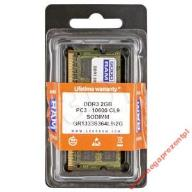 GOODRAM SO-DIMM DDR3 2048MB PC1333 CL9 |!