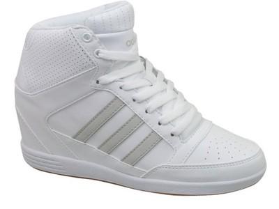 buty na koturnie adidas neo super wedge
