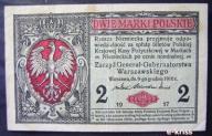 2 marki 1916 seria A generał rzadki
