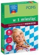 W 1 miesiąc - Niemiecki. Ekstrapakiet 1 PONS