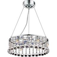 Piękna lampa wisząca żyrandol kryształki G9 GORMAN