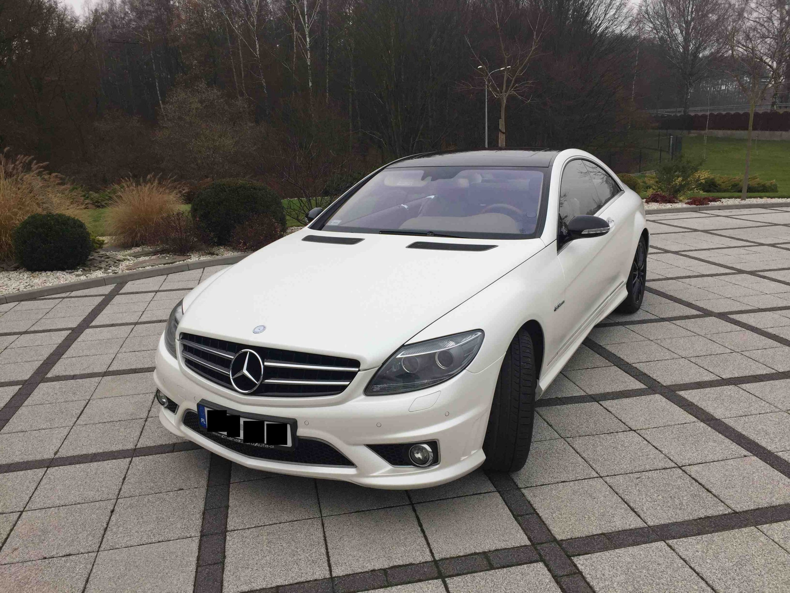 Mercedes CL 63 AMG 1 szy właściciel salon Polska