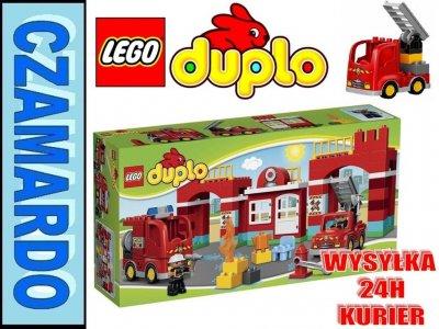 KLOCKI LEGO DUPLO REMIZA STRAŻACKA 10593 - 6543284601 - oficjalne ...